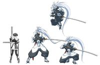 Hakumen (Concept Artwork, 1)