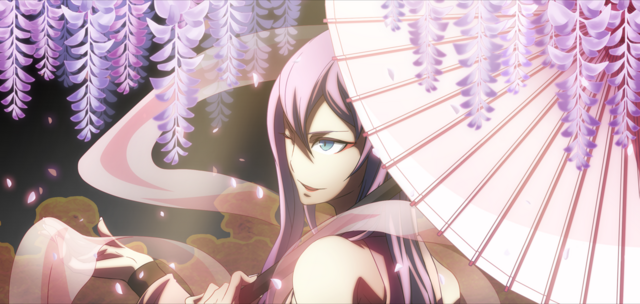 File:Amane Nishiki (Chronophantasma, Arcade Mode Illustration, 2).png