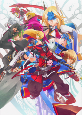 File:BlazBlue Chronophantasma Story Maniacs Material Collection II (Illustration, 5).png
