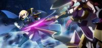 Jin Kisaragi (Chronophantasma, Arcade Mode Illustration, 2)