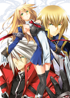 BlazBlue Chronophantasma Story Maniacs Material Collection II (Illustration, 32)