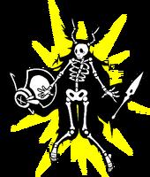 Tsubaki Yayoi (Sprite, electrocuted)