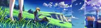 Jin Kisaragi (Calamity Trigger, Arcade Mode Illustration, 1, Type B)