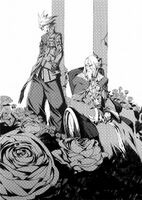 BlazBlue Phase 0 (Black and white illustration, 4)