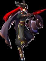 Tsubaki Yayoi (Chronophantasma, Character Select Artwork)