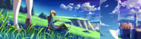 Jin Kisaragi (Calamity Trigger, Arcade Mode Illustration, 1, Type D)
