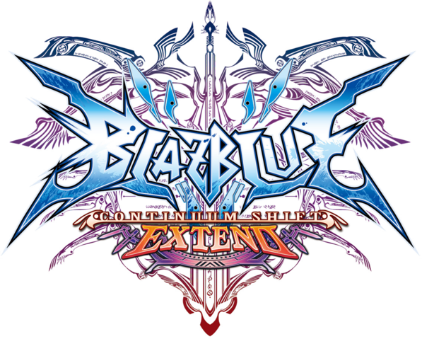 File:BlazBlue Continuum Shift Extend (Logo).png