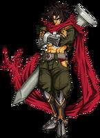 Bang Shishigami (Calamity Trigger, Character Select Artwork)