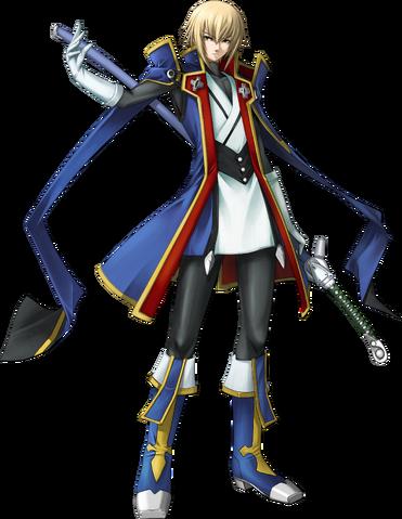 File:Jin Kisaragi (Calamity Trigger, Character Select Artwork).png