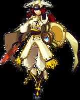 Tsubaki Yayoi (Continuum Shift, Character Select Artwork)