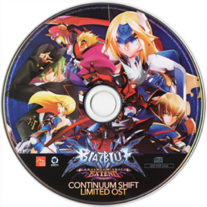 BLAZBLUE CONTINUUM SHIFT LIMITED ORIGINAL SOUNDTRACK (Cover)