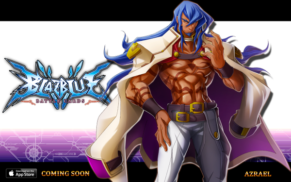 File:BlazBlue Battle Cards (Announcement of Azrael).png