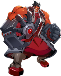 Iron Tager (Centralfiction, Character Select Artwork)