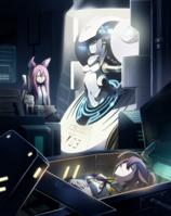 Celica A. Mercury (Chronophantasma Extend, Arcade Mode Illustration, 3)