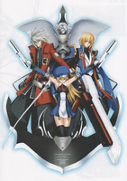 BlazBlue Calamity Trigger Material Collection (Illustration, 16)