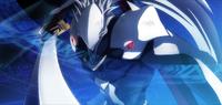 Hakumen (Chronophantasma, Arcade Mode Illustration, 3, Type A)