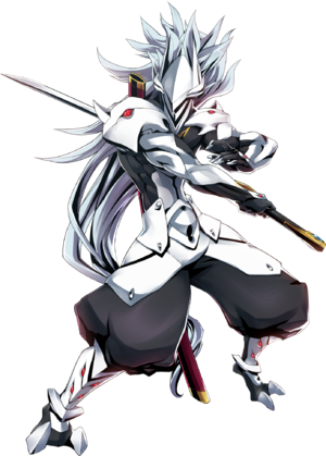 Hakumen (Centralfiction, Character Select Artwork)