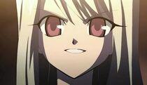 Aoi's grin