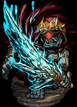 Badrigo the Diamond Sword II Figure
