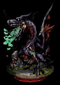 Zombie Dragon Figure