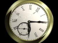 The broken watch