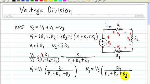 DC Circuit Analysis Voltage Divider (Part 1)