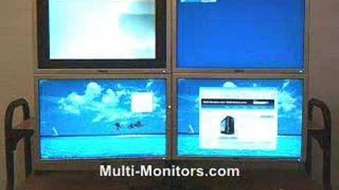 Multi-Monitor Computer & Multi-Screen