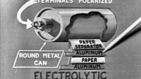 Electronics Capacitors 1965 US Air Force Training Film