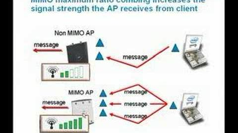 Advantages 802.11n with legacy clients