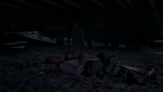 File:Richard & julia under the boardwalk.jpg