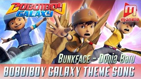 "Sing-along BoBoiBoy Galaxy Theme Song ""Dunia Baru"" by BUNKFACE"