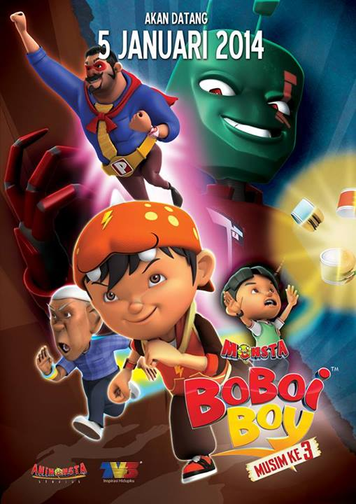 Boboiboy Musim 3 Episode 01-25 [END] The Animation