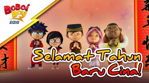 BoBoiBoy Happy Chinese New Year 2016 Promo