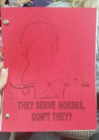 Serve Horses Script