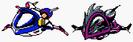Bomberman and Max's Ships