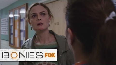 """Stay With Us, Booth from """"The Recluse In The Recliner"""" BONES FOX BROADCASTING"""