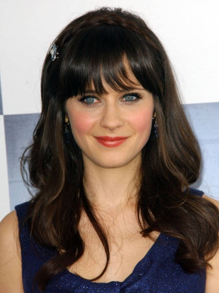 Zooey Deschanel blonde