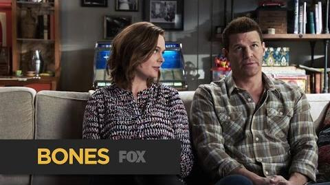"""BONES A Healthy Debate from """"The Movie in the Making"""" FOX BROADCASTING"""