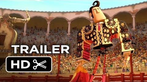 The Book of Life Official Trailer 1 (2014) - Channing Tatum, Zoe Saldana Animated Movie HD