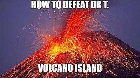 The Volcano Island of Dr T Level 20 How to Destroy Boss Bases Boom Beach