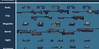 Gun Component Charts