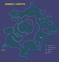 Generally Hospital Map