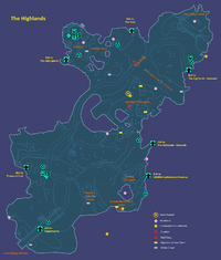 The Highlands Map