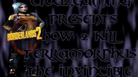 Borderlands 2 - How to kill Terramorphus the Invincible Easy - Tutorial German Deutsch