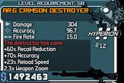 Cr combat destroyer