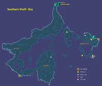 Southern Shelf Bay Map