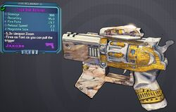 Revolver(Borderlands2) Trick-Shot lvl21