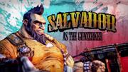 Salvador as the Gunzerker