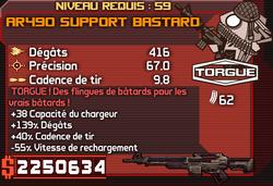AR490 Support Bastard