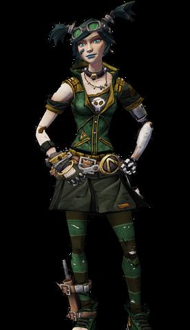 File:Gaige-skin-emerald executioner.png